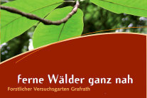Versuchsgarten Grafrath - Cover des Flyers